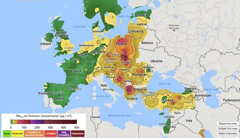 Dišemo najlošiji vazduh u Evropi