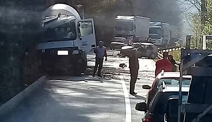 Saobraćajna nesreća na magistralnom putu Zvornik-Milići
